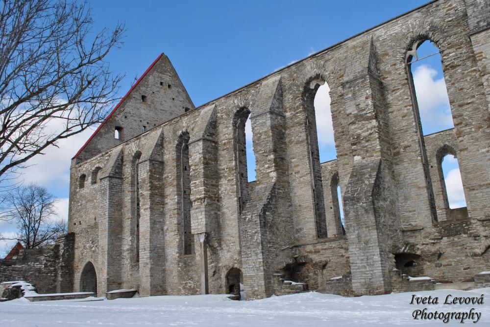Pirita klooster a pláž, 10.3.2013